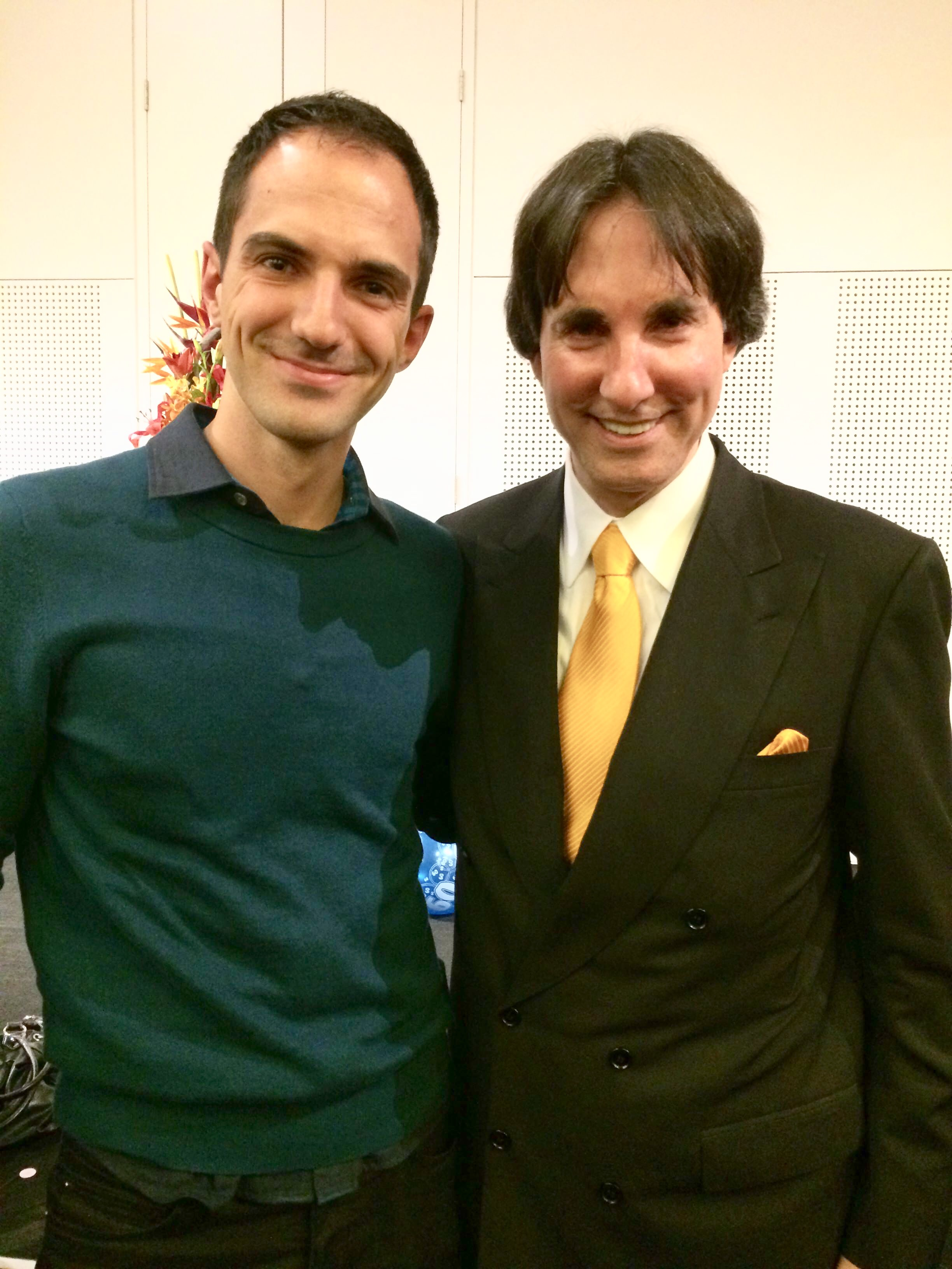 Giorgio Genaus with Dr. John Demartini