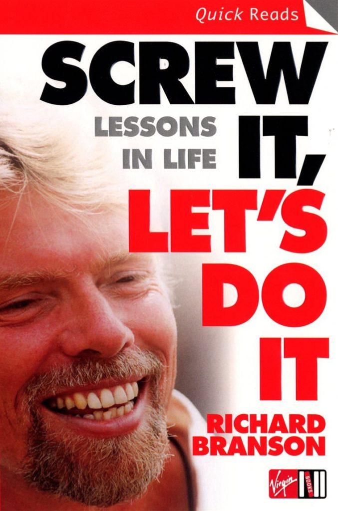 Screw It, Let's Do It Book by Richard Branson
