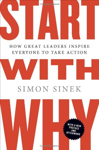 Start With Why Book by Simon Sinek