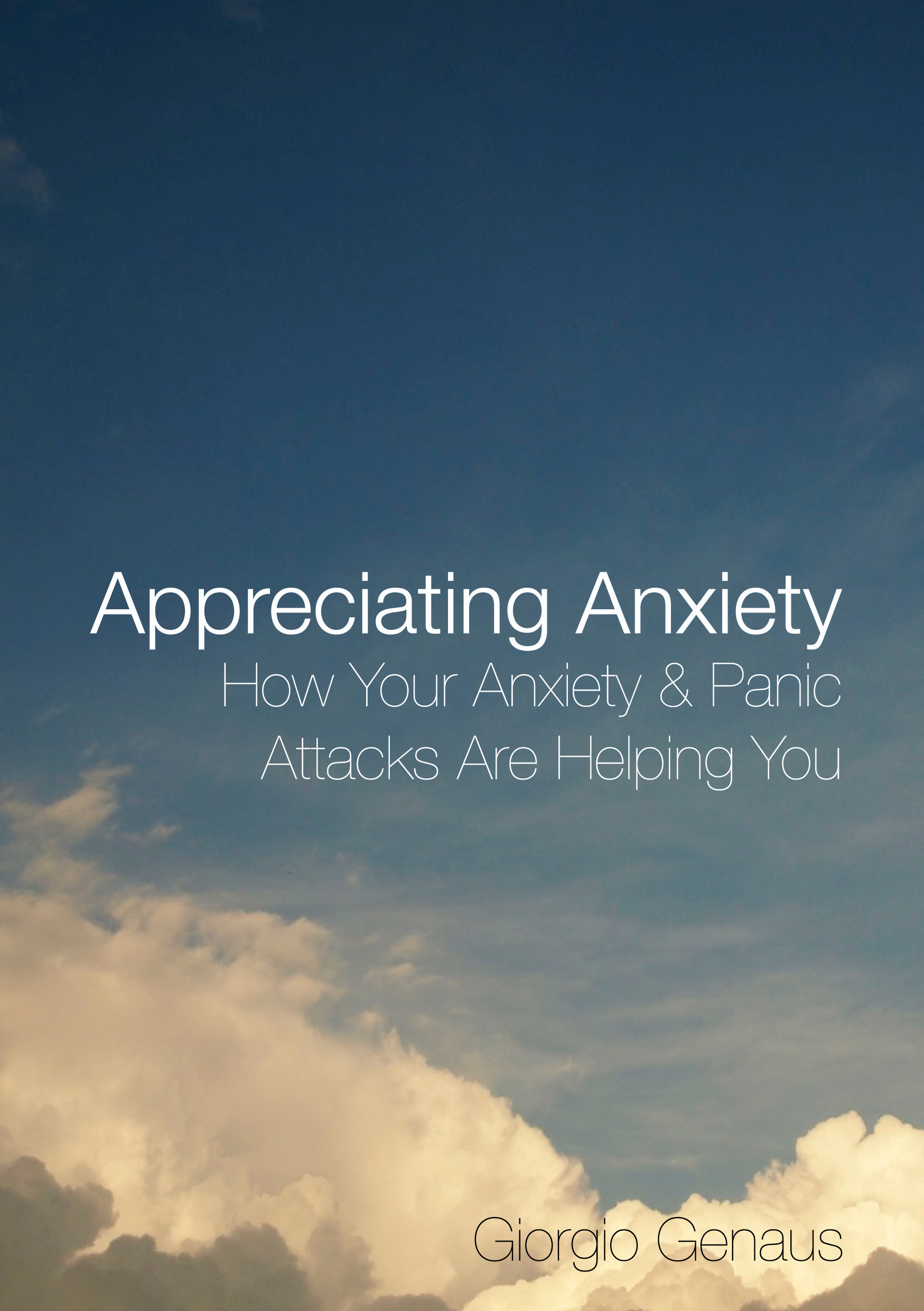 Appreciating Anxiety eBook cover